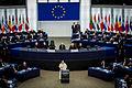 Pape François Parlement européen Strasbourg 25 nov 2014 15.jpg
