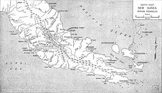 Papuan Peninsula - Image: Papuan Peninsula