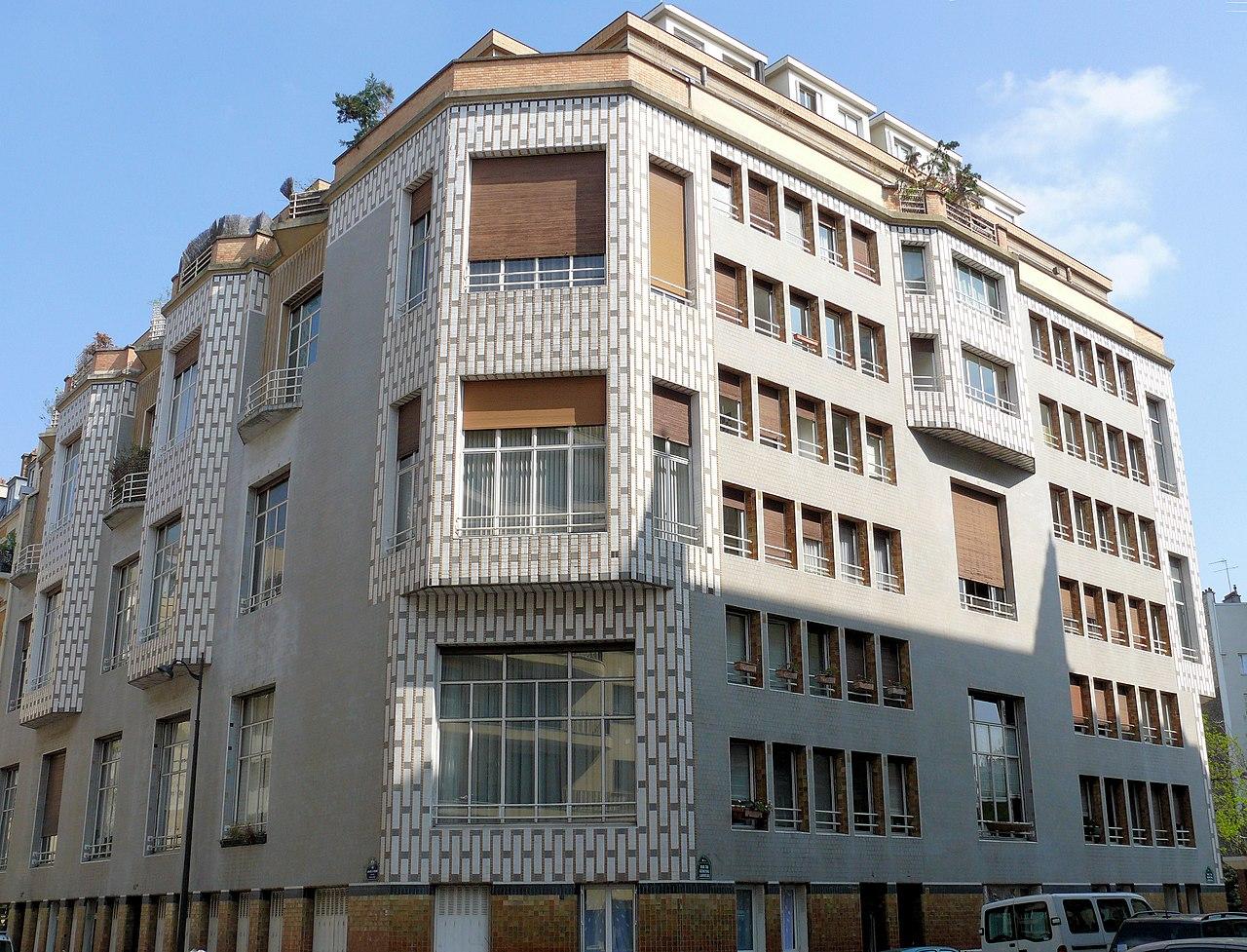 Rue De La Deco file:paris 16 - studio building - 65 rue jean de la fontaine