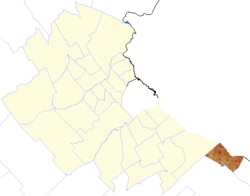 location of Ensenada Partido in Gran Buenos Aires
