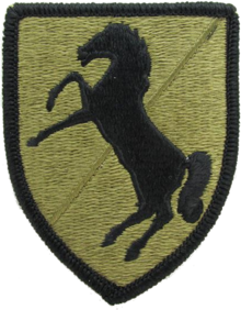 Patch of the 11th Armored Cavalry Regiment (Scorpion W2).png