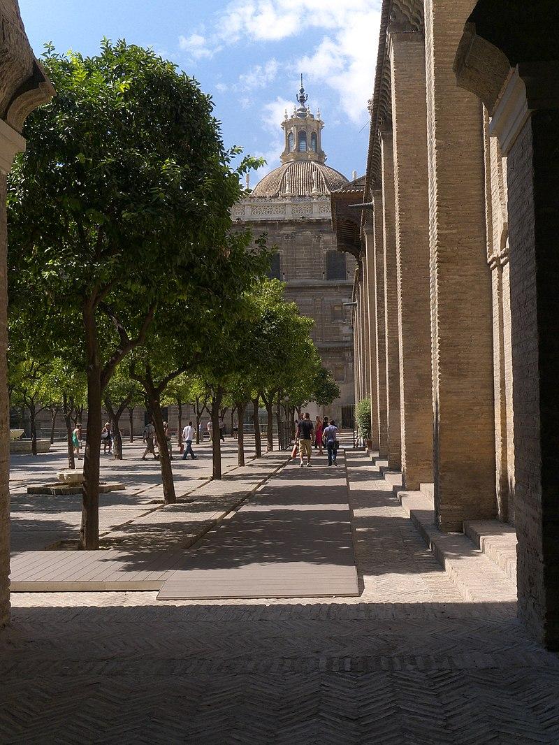 Patio de los Naranjos. Catedral de Sevilla.jpg