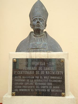 University of Orihuela - Cardinal Loazes, founder of the university.