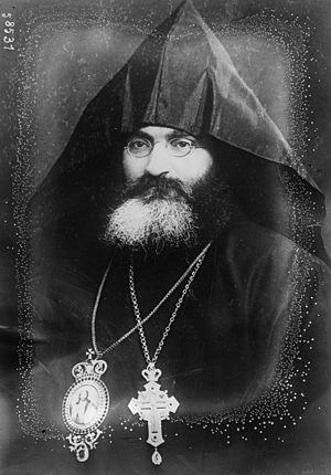 Zaven I Der Yeghiayan of Constantinople - Zaven Der Yeghiayan (1920).