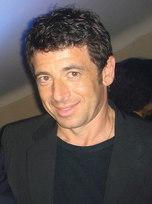 Photo Patrick Bruel via Wikidata