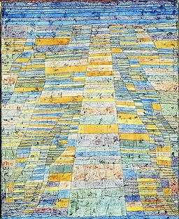 Paul Klee, Droga główna i boczne, 1929