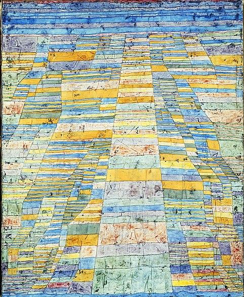 File:Paul Klee, Hauptweg und Nebenwege, 1929, Öl auf Leinwand, 83,7 x 67,5 cm, Museum Ludwig 1976.jpg