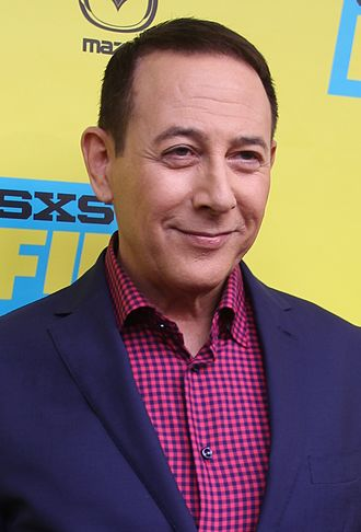 Paul Reubens - Reubens at the premiere of Pee-wee's Big Holiday in Austin, Texas, 2016