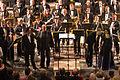Pauluskirche Ulm Konzert Orchester, Solisten und Dirigent 2009 03 22.jpg