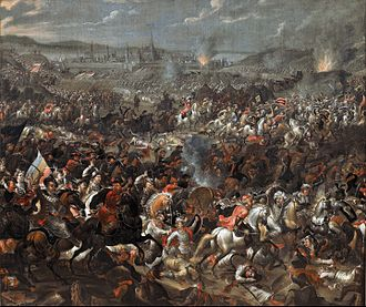 Great Turkish War - Image: Pauwel Casteels Battle of Vienna Google Art Project