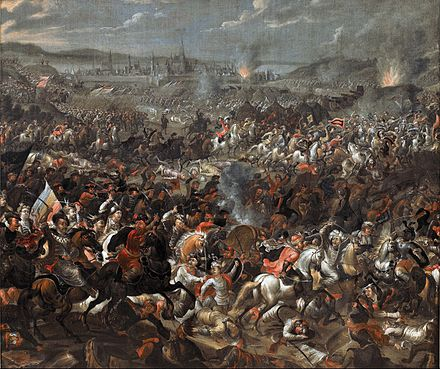 Battle of Vienna, painting by Pauwel Casteels. - Battle of Vienna