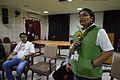Pavithra Hanchagaiah - Open Discussion - Collaboration among Indic Language Communities - Bengali Wikipedia 10th Anniversary Celebration - Jadavpur University - Kolkata 2015-01-10 3149.JPG