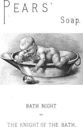 Soap - Advertisement for Pears' Soap, 1889