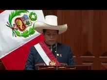 Fil: Pedro Castillo Inaugural Address.webm