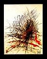 Pedro Meier chinesische Tuschemalerei, Mischtechnik und Federkiel, mehrfarbig. Nr. 28, 40×30 cm, 2015. Foto © Pedro Meier Multimedia Artist.jpg