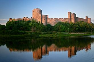 Pembrokeshire - Pembroke Castle, birthplace of Henry VII