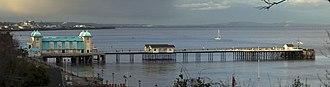 Penarth Pier - Penarth Pier in 2008.