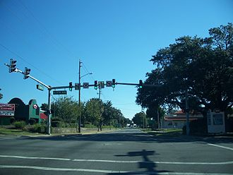U.S. Route 98 in Florida - US 98 concurrency with Chase Street, in downtown Pensacola