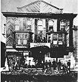 People standing outside the Savoy Theatre, Dawson, Yukon, circa 1902 (AL+CA 565).jpg
