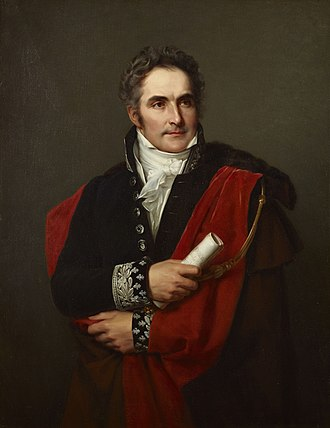 Casimir Pierre Périer - Portrait of Casimir Perier by Louis Hersent (1827)
