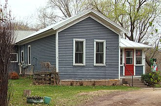 Pest House (Stillwater, Minnesota) - The Pest House with later additions at right and rear