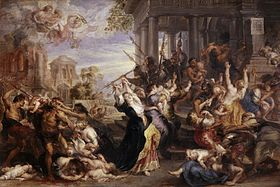 Le Massacre des Innocents de Pierre Paul Rubens, 1621