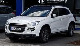 Pneumatiky Peugeot 4008