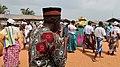 Photohraphing procession Vodoun Festival Grand Popo Benin Jan 2018.jpg