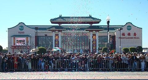 Image result for hình cổng khu little saigon