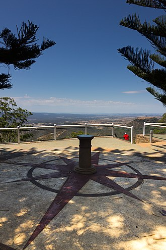 Picnic Point, Toowoomba - Picnic Point Lookout, 2013