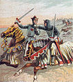 Pictures of English History Plate XXXI - After the Battle of Crecy.jpg