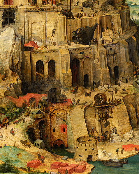 File Pieter Bruegel The Elder The Tower Of Babel Detail Tower Lower Right Google Art Project Jpg Wikimedia Commons