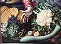 Pieter aertsen, venditrice di verdura al mercato, 1567, 03.JPG