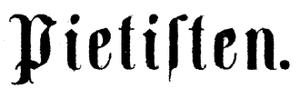 Carl Olof Rosenius - Pietisten masthead 1851