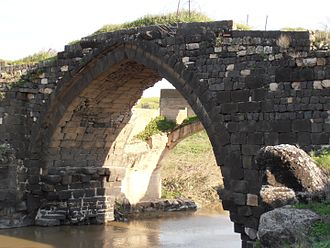 Gesher, Israel - Old bridge
