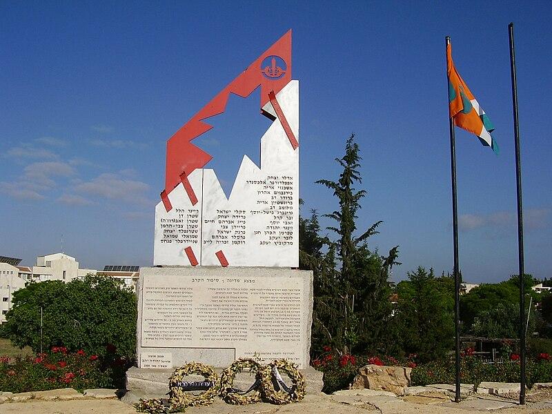 אנדרטת אלכסנדרוני בכפר סבא