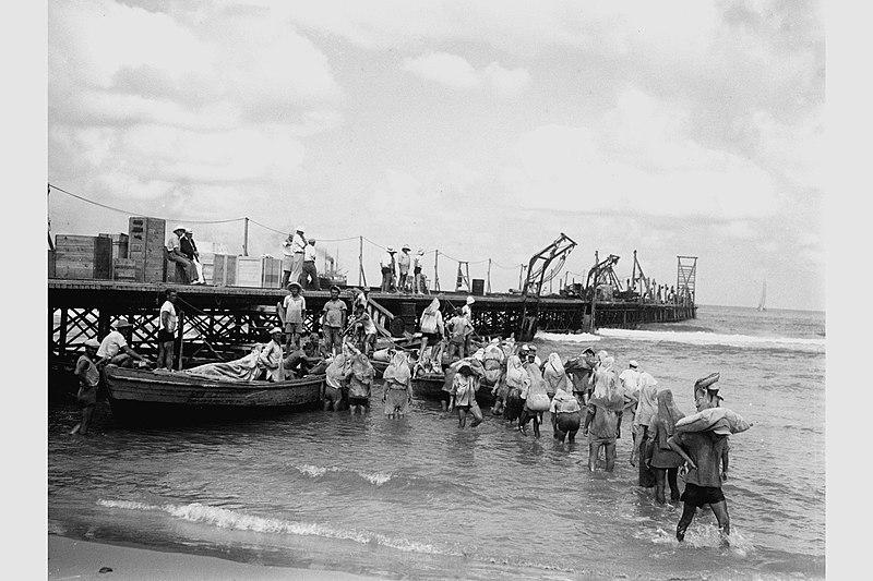 נמל תל אביב, מזח הברזל