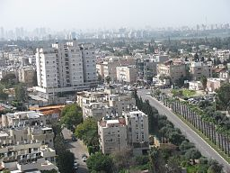 PikiWiki Israel 7453 Ramat Hasharon from the top of tops.JPG