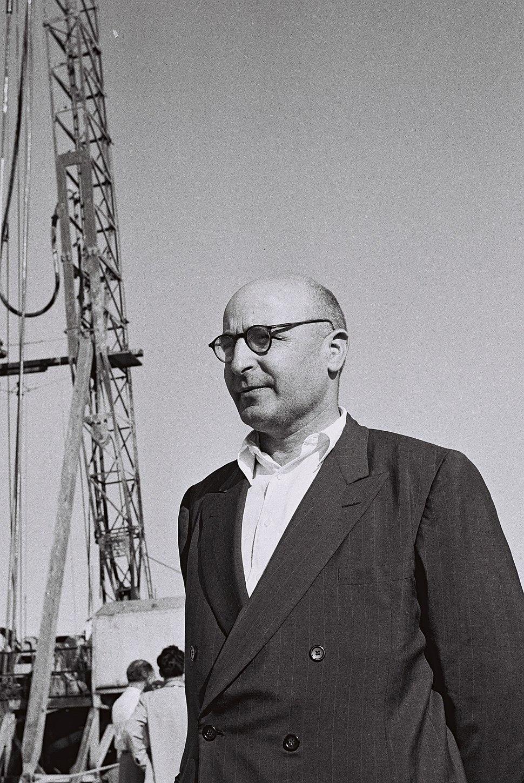 Pinchas Sapir 1955