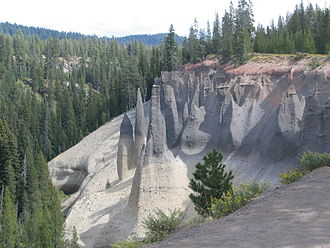 Crater Lake National Park - The Pinnacles