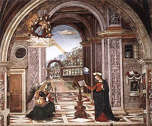 Baglioni Chapel - The Annunciation.