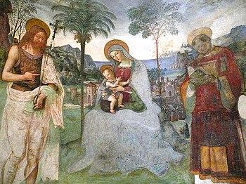 Pinturiccio: Madonna