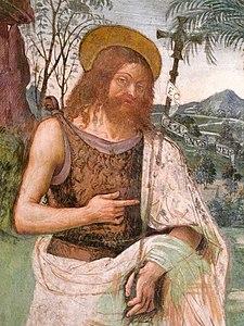San Giovanni Battista, Pinturicchio