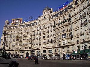 Plaça de Francesc Macià, Barcelona - Image: Plaça Francesc Macià Barcelona
