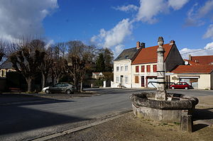 Roucy - The square in Roucy