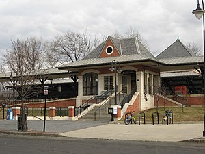 Plainfield Station from North Avenue.jpg