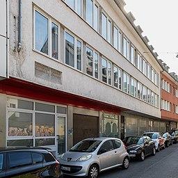 Plakette Geburtshaus Ferdinand Franz Wallraf, Steinweg 10, Köln-5579