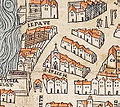 Plan de Paris vers 1550 eglise St-Julien.jpg