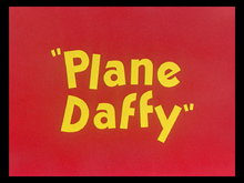 Plane Daffy title card.png
