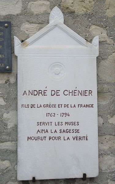 Plaque at the Cimetière de Picpus